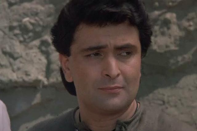 Риши Капур в фильме «Черный принц Аджуба».