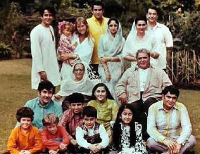 Биография Радж Капура: семья, жена и дети