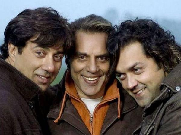 С сыновьями Санни и Бобби