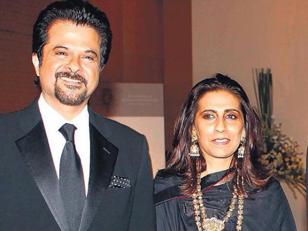 Анил Капур с женой Сунитой