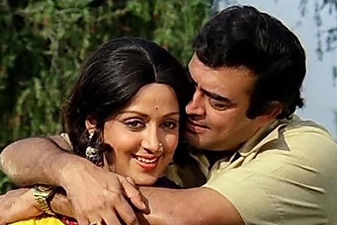 Хема Малини и Санджив Кумар