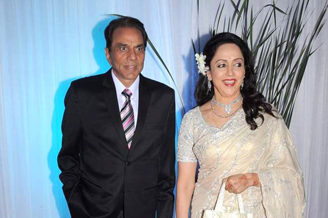 Хема Малини и Дхармендра
