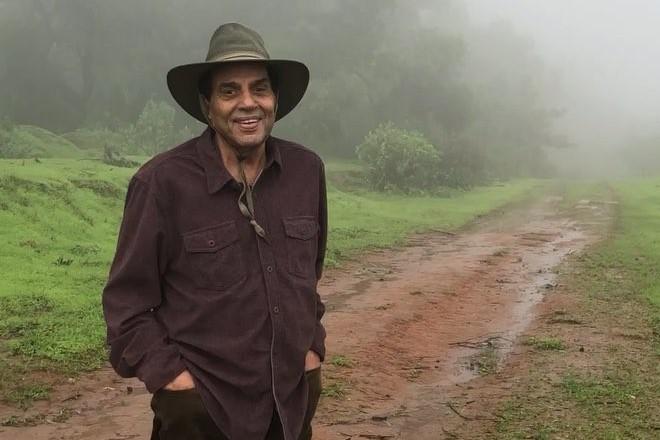 Дхармендра в 2018 году
