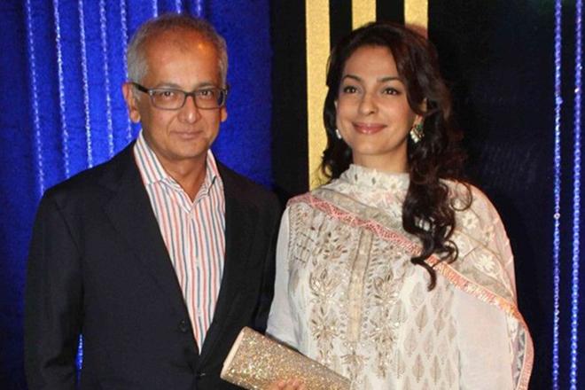 Джухи Чавла и ее муж Джай Мехта