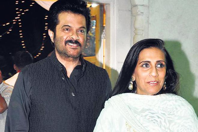 Анил Капур и его жена Сунита