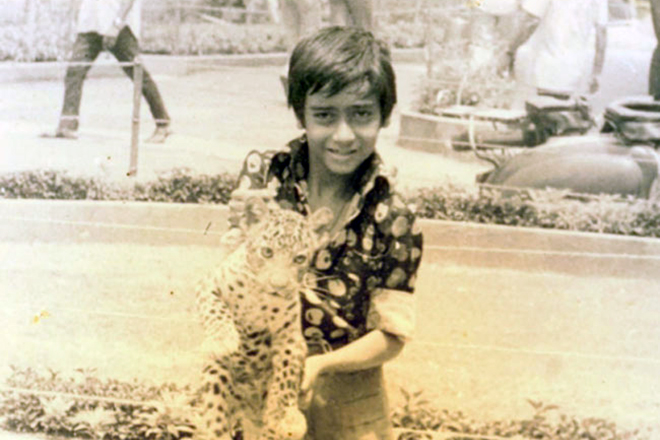 Аджай Девган в детстве