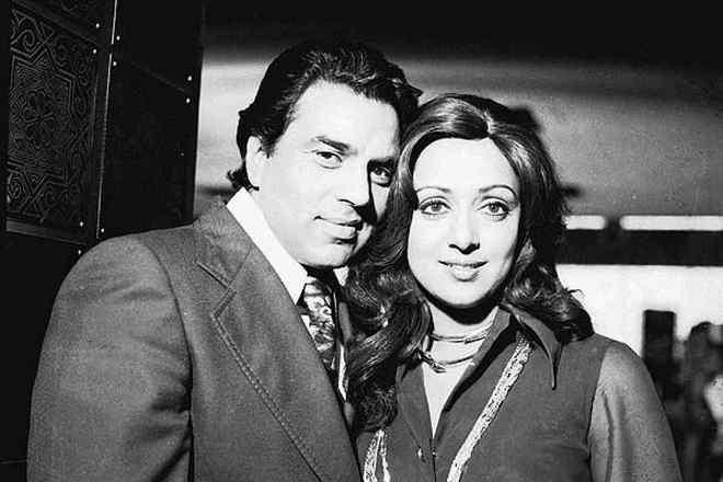 Дхармендра и его жена Хема Малини