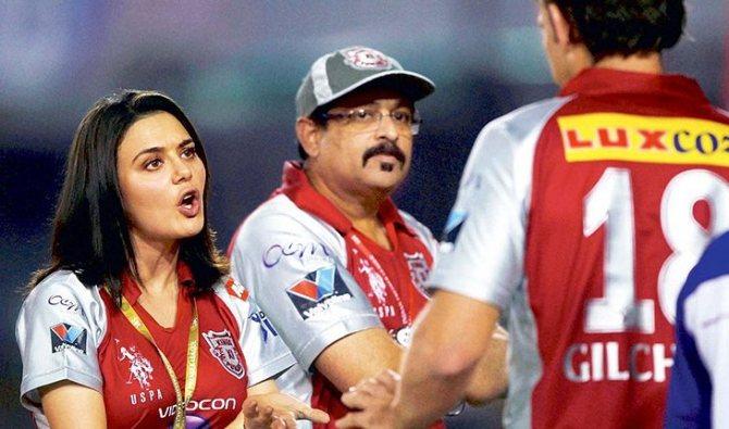 Прити Зинта совладелец индийской Премьер-лиги по крикету