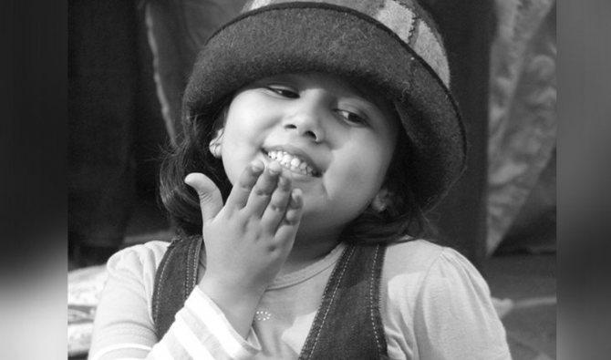 Прити Зинта в детстве