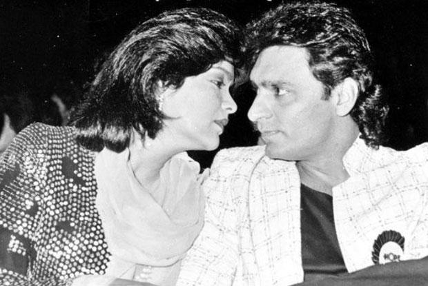 Зинат Аман с мужем Мазкар Кхан