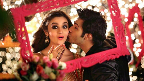 Варун Дхаван и Алия Бхатт (кадр из фильма «Невеста Хампти Шармы»)