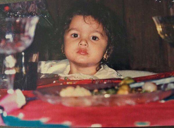 Алия Бхатт в детстве