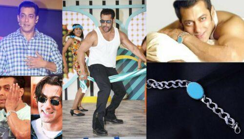 От супер прически из фильма 'Tere Naam'/'Всё отдаю тебе' до его счастливого бирюзового браслета — 6 трендов от Салмана Кхана